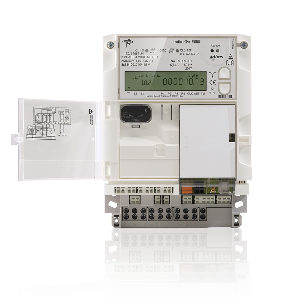 Landis Gyr E650 Electrical Technology How To Wire A 3phase Kwh Meter From The Supply View Gallery